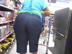 Huge Booty And Hips Jeans Mom