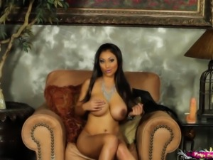 Sybian action with Indian beauty Priya Rai