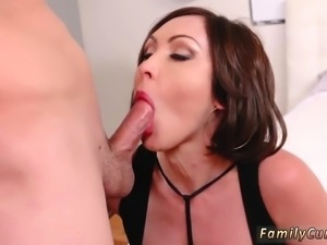 Hot babe shower sex Auntie To The Rescue