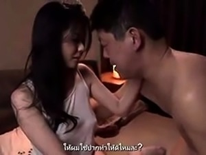 Luscious Asian wife seduces a young man to satisfy her needs
