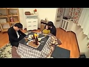 When Japanese Milf get molested by man, her husband fell asleep beside her -...