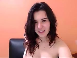 Kayden Kross has a softcore masturbation today