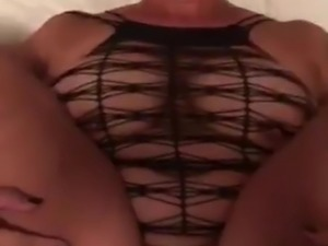 The woman is very hot