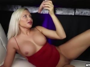 Cock milking every last drop! kacey jordan