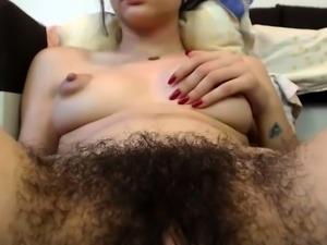 Hairy Teen Full Bush