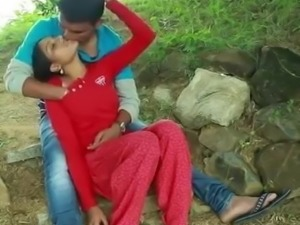 indian hot girl in park