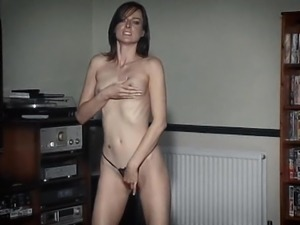 SOMEBODY TO LOVE - skinny British dancer striptease