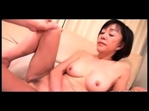 Hairy Japanese Girl Toying