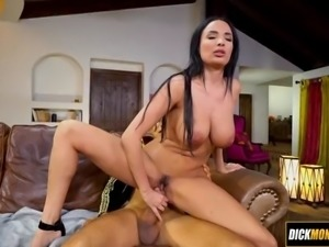 Fucked by a massive horse cock