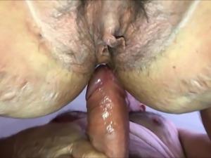 BBW anal an pussy fucking