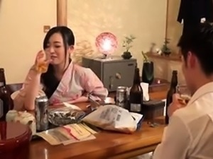 Japanese sensual beauty pussy fucked hardcore in gangbang