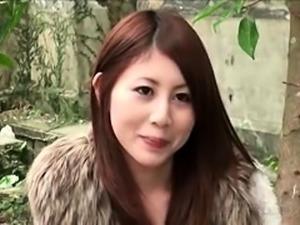 Hairy pussy japanese slut fingered fucked outdoor