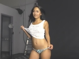 Hot asian model joan photoshoot 2