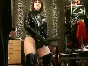 Mistress with huge strap on