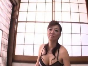 Wanton nipponese Noriko Igarashi banged in sissy