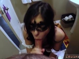 Mother associate's daughter scissoring xxx Swalloween Fun