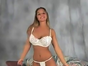 CM 4 inch white bra strap