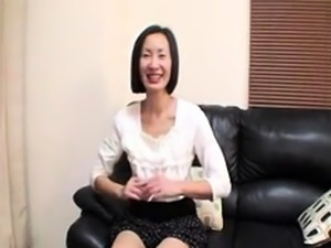 Skinny Japanese mom needs a hard dick plowing her hairy cunt
