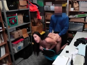 Almost caught by dad fucking boss' partner's step brother