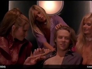 Michelle trachtenberg, lucy lawless &amp jessica boehrs topless