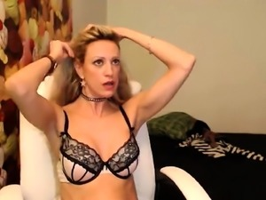 Busty milf in stockings enjoys a good doggystyle fucking