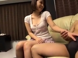 Sensual Japanese mom gets her pussy stuffed with hard meat