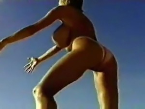 big boob fantasy beach