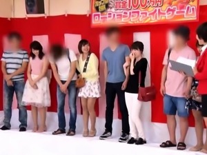 Kinky Japanese friends engage in a wild group sex experience