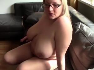 Blonde mature bbw in pantyhose