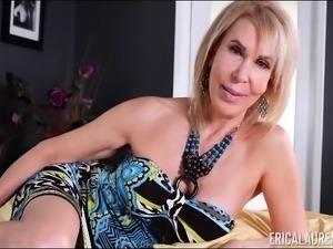 Erica Lauren pleasuring herself