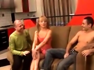 Group hardcore sex with horny MILF