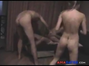 Swapping foursome. DP the girl.