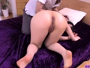 Japan threesome with hot japan girl - More at 69avs.com