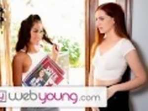 Str8 Girl Kendra Spade Goes Lesbian to Get Votes -WebYoung